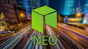 neo logo on street