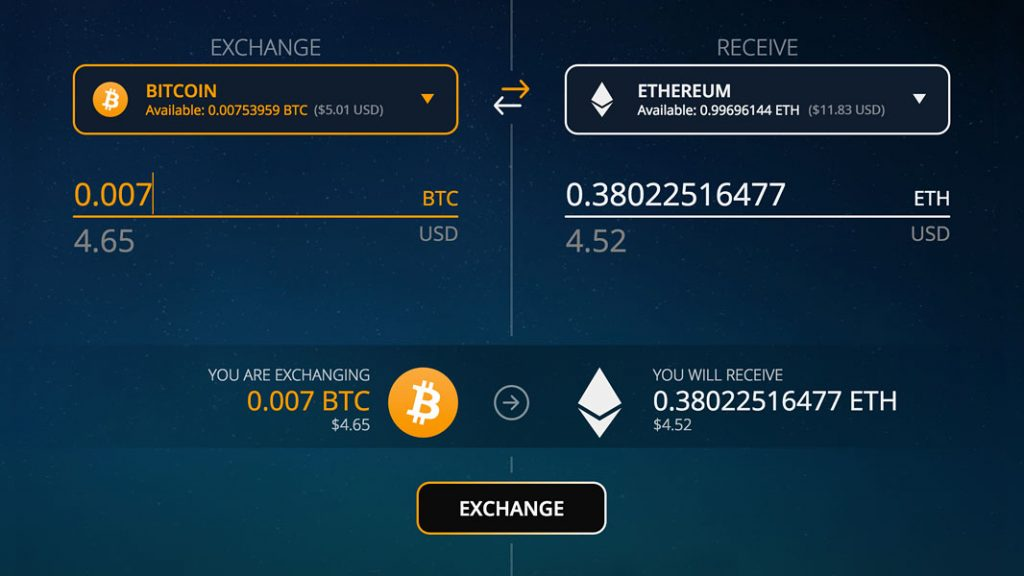 exodus2 1024x576 - Exodus, Multi-Asset Wallet, integrates Bitcoin Cash and Ethereum Classic