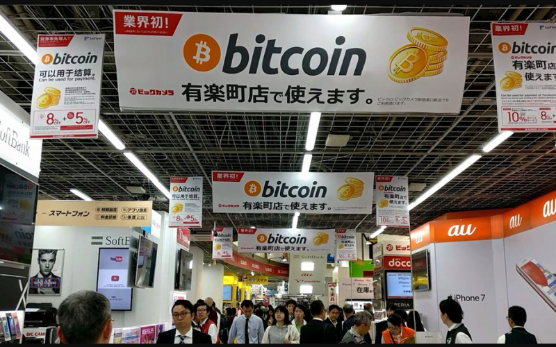 japan bitcoin2 800x500 - 5 Reasons Why Japan Is The Friendliest Cryptocurrency Country In Asia