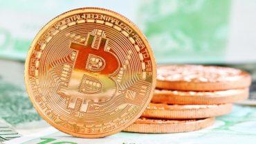 phisycal bitcoin illustration