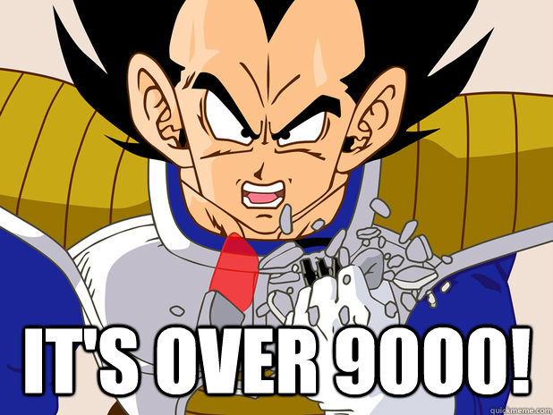 BITCOIN 9000 - It's Over 9000 - Bitcoin Keeps Beating Records!