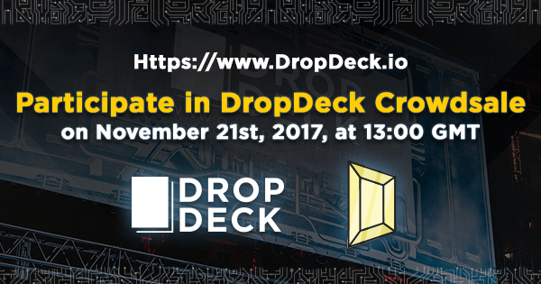 dropdeck ICO - DropDeck – An Innovative Solution to Cross-Border Business