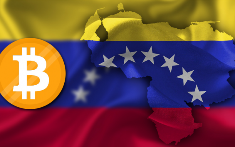 Bitcoin Venezuela Flag 1 800x500 - Venezuelans are Adopting Bitcoin in Order to Survive