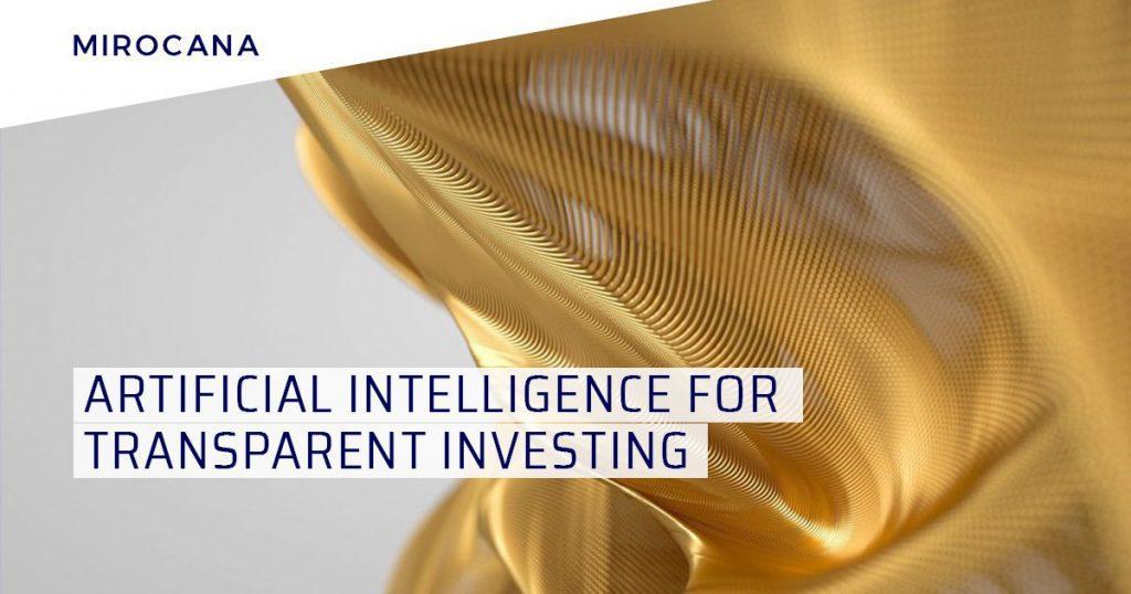 mirocana1 1024x538 - Mirocana – Artificial Intelligence for the Financial World