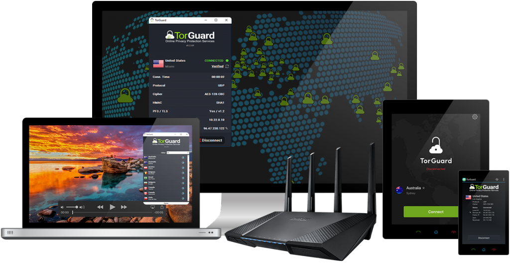torguard device screens 1024x529 - Why is TorGuard VPN The Best Solution to Protect Your Privacy