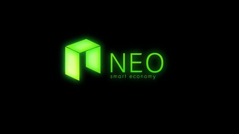 neo coin in neon