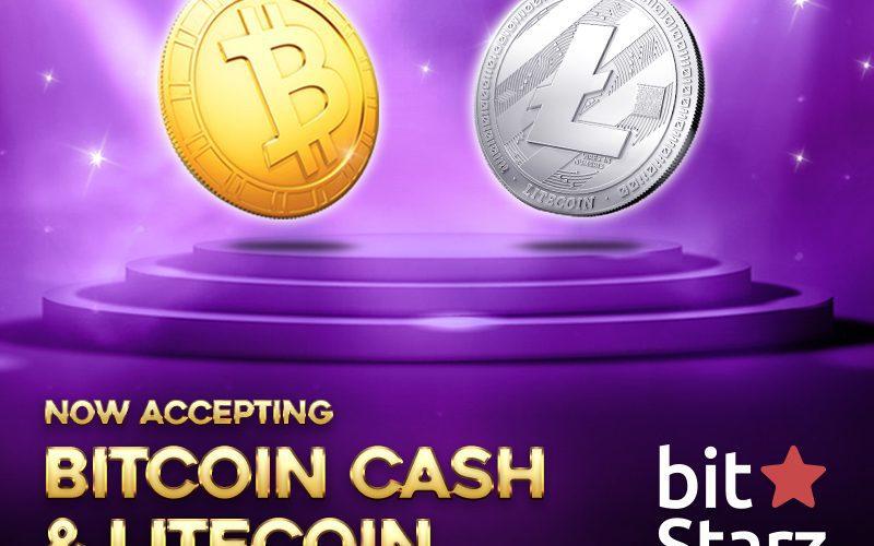 BitcoinCash Litecoin banner 800x600 v01 800x500 - BitStarz Now Accepts Litecoin (LTC) And Bitcoin Cash (BCH)