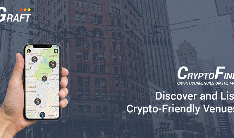CryptoFind GRAFT Blockchain 800x471 - All Crypto-friendly Venues Are Finally Mapped in One App - CryptoFind