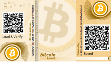 bitcoin paper wallet example