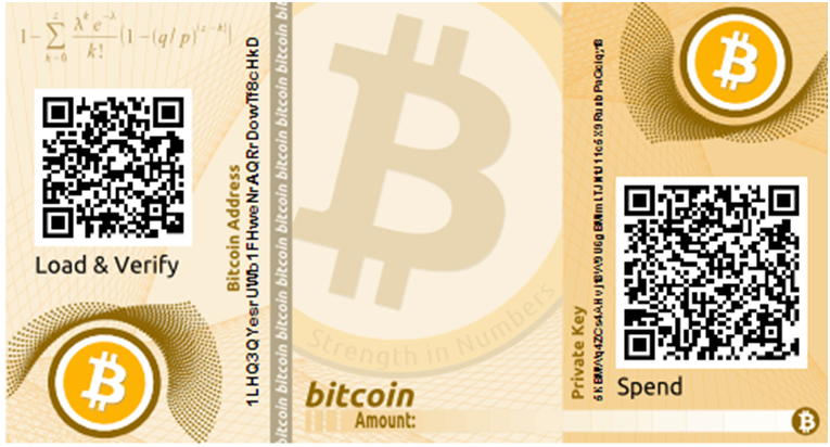 paper - How To Create A Bitcoin Paper Wallet