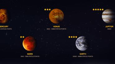 Space Casino Bonuses