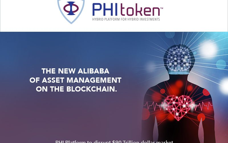 PHI pr cover 800x500 - World's First Hybrid Investment Platform, PHI Token, raises £4.7M in first two days of pre-ICO sale