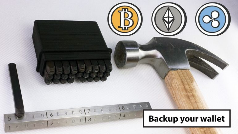 backup your wallet cryptohex