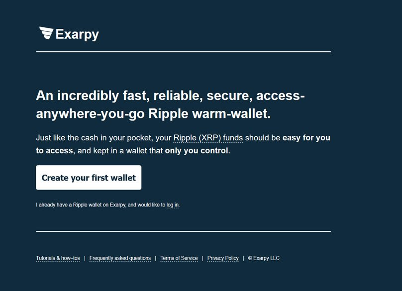 exarpy interface - Best Ripple (XRP) Wallets 2018 - How To Securely Store Your Ripple
