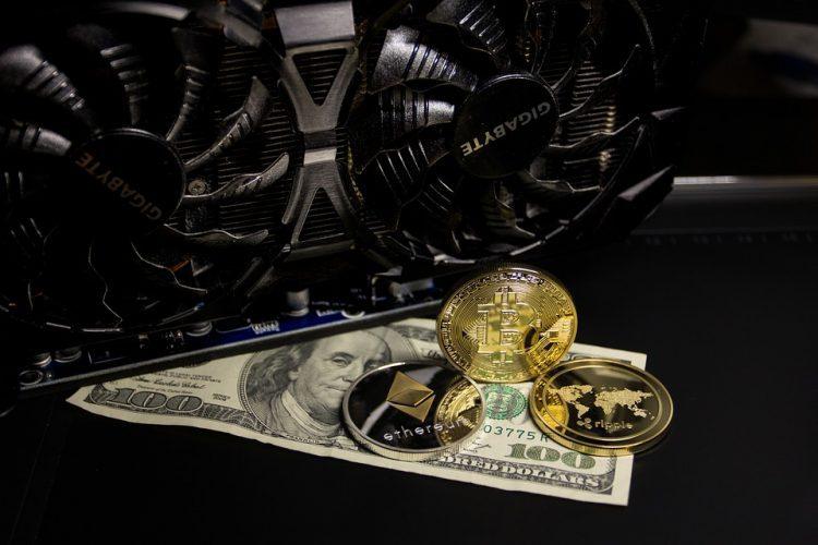 GPU Mining med pengar för att visa lönsamhet
