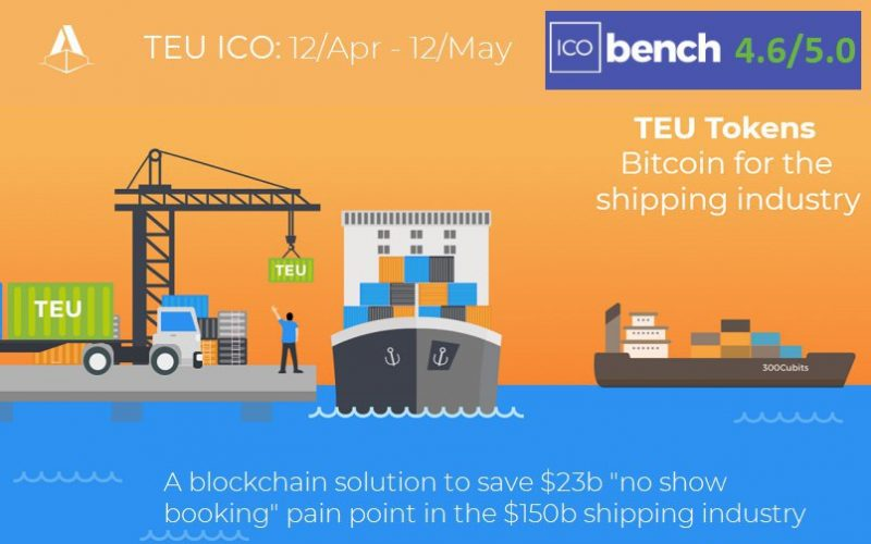 photo5893267456435268757 1 800x500 - Blockchain-based Container Shipping Platform 300cubits to start the TEU ICO on 12th April 2018