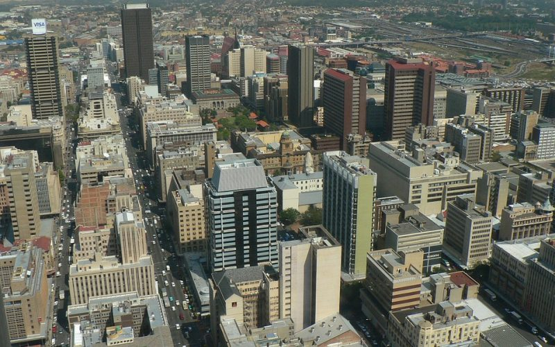Johannesburg 800x500 - South Africa Ready to Establish a Self-Regulatory Agency to Regulate Cryptocurrencies