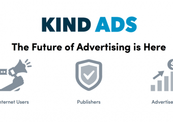 Kind Ads1 340x240 - Kind Ads Review - Decentralized Platform for Domains and Publishers