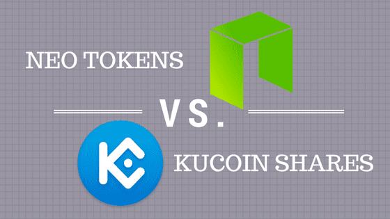 NEO KCS - NEO vs. Kucoin Shares - The Battle of PoS Tokens - Part I