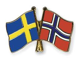 Sweden Norway Flag - Mining Companies Move To Norway and Sweden For Cheaper Electricity Bills