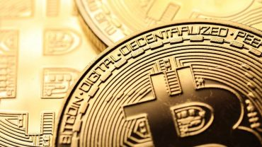 illutration of a physical bitcoin