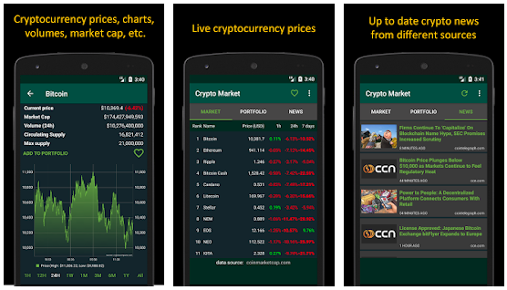 Best cryptocurrency app track prices
