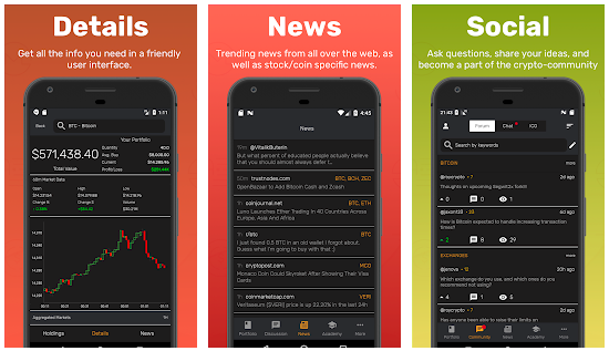 cryptonomy - Top 10 Cryptocurrency Mobile News Apps For 2018