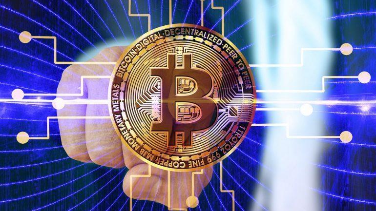 bitcoin logo making money