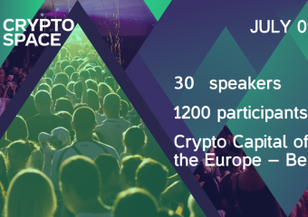 Cryptospace 340x240 - The biggest Europe Blockchain and Cryptocurrency conference