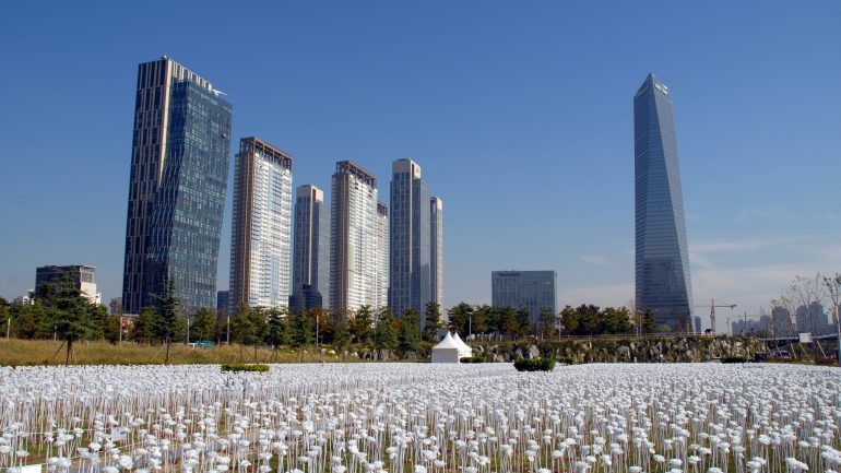 south korea buildings