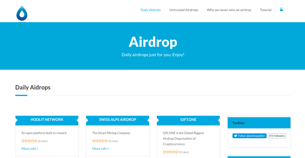 airdropaddict com - Top 6 Crypto Airdrop Platforms You Should Know