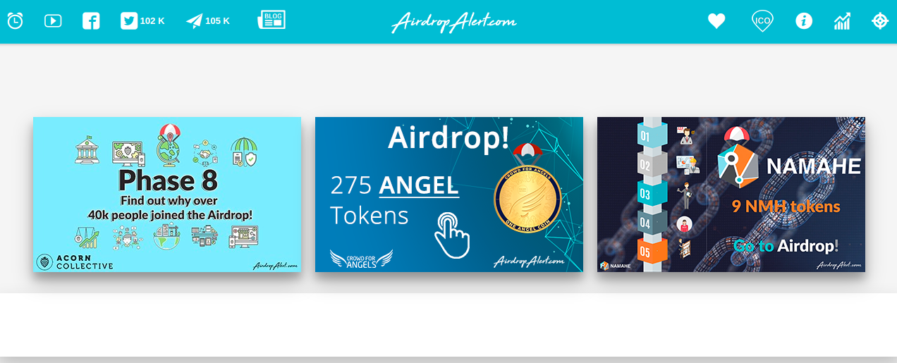 airdropalert com - Top 6 Crypto Airdrop Platforms You Should Know