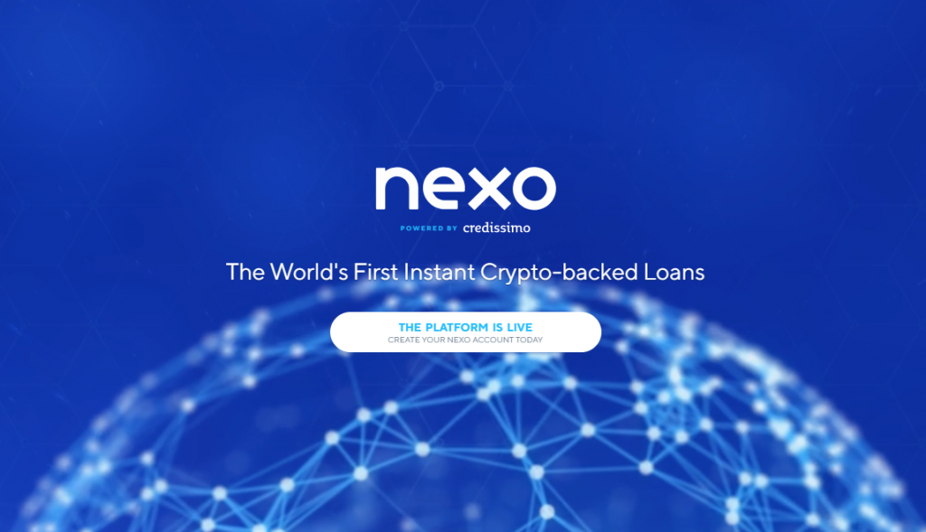 nexo 1 1024x589 - Top Cryptocurrencies with a Great Growth Potential in 2018 – Part V