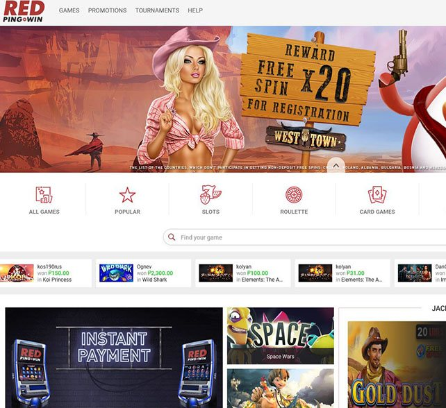 red3 - RedPing.Win Review | Best Online Bitcoin Casino