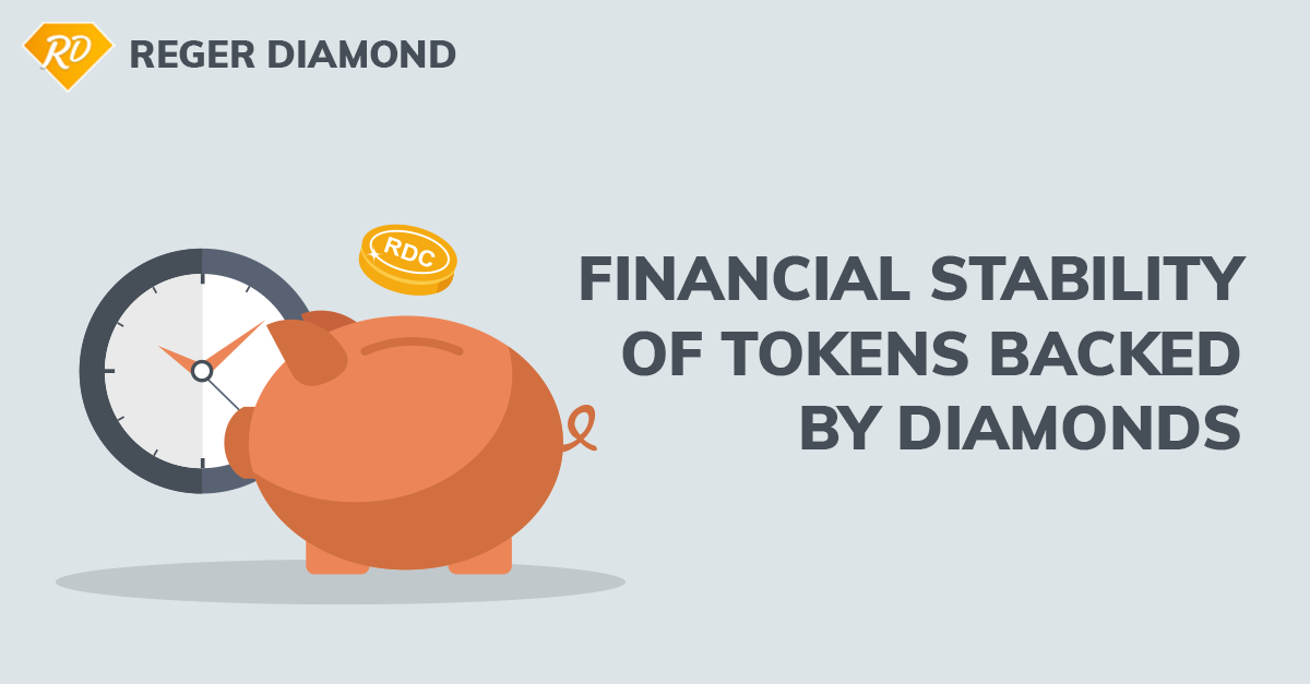 Financial Stability Of Tokens Backed By Diamonds