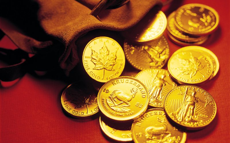 Gold Coins HD Images 800x500 - 5 Profitable Proof-of-Stake Cryptocurrencies - Part I