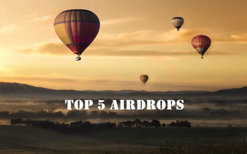airdrops 800x500 - What is an Airdrop – Top 5 Airdrops of All Time
