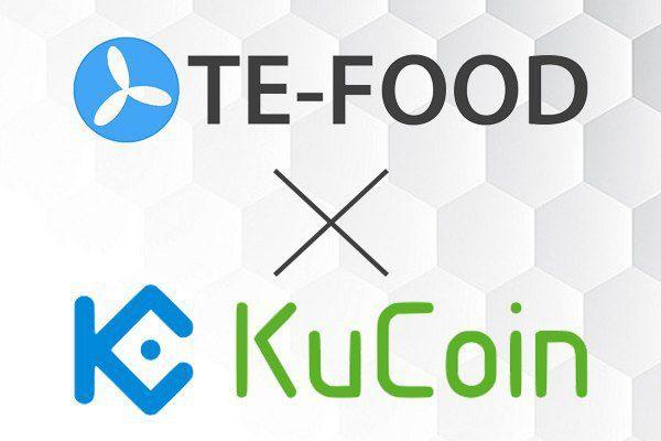 te-food and kucoin partnership