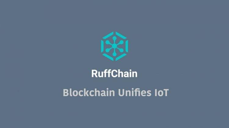 ruffchain blockchain unifies IoT