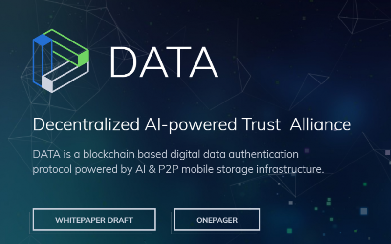 DTA 800x500 - DATA Cryptocurrency (DTA) is Now on Github