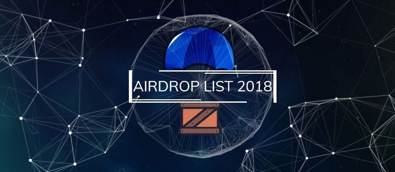 airdrop 1 800x350 - Airdrops Scheduled For Q3 Of 2018