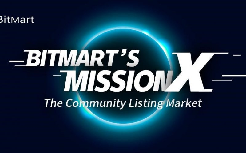 bitmartsmission 800x500 - BitMart Exchange Launches Mission X: The Community Listing Market