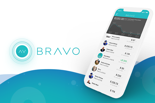 bravo app interface