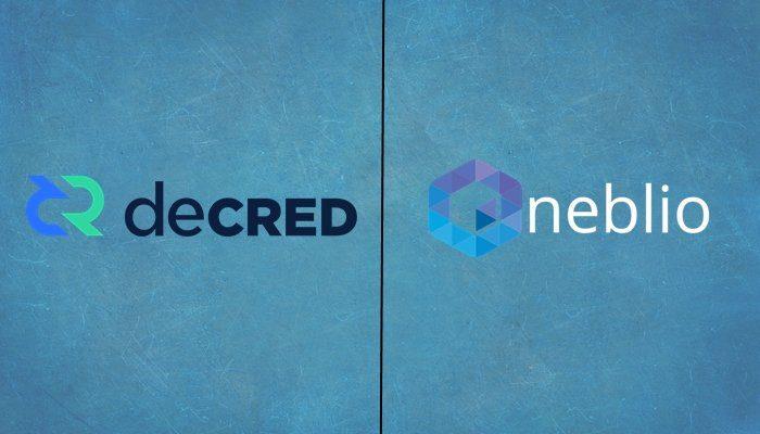decred vs neblio comparison