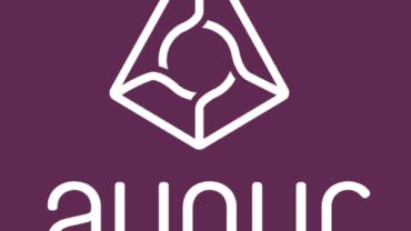 augur logo purple background