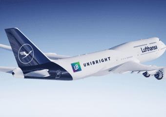 Unibright Lufthansa plane 340x240 - Unibright unites tech giants like Microsoft and Lufthansa under the banner of Blockchain
