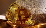 bitcoin in gold fading
