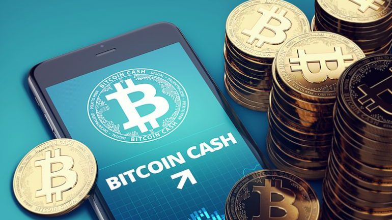 bitcoin cash on app