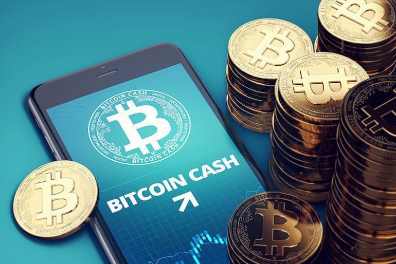 bitcoin cash di aplikasi