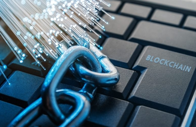 Blockchain keyboard 775x500 - New York Government Says Exchanges Are Manipulated; Kraken Fires Back
